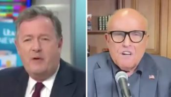 Piers Morgan Explodes At Rudy Giuliani Over Donald Trump's Response To Protests: 'You Sound Completely Barking Mad'