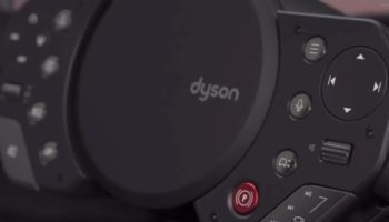 The Defunct Dyson EV's Steering Wheel Looks Like It Was Made By Vacuum Cleaner People