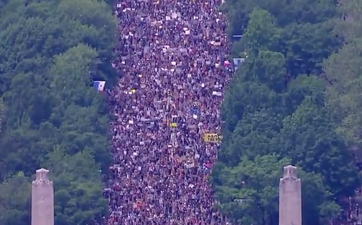The George Floyd Protests In Philadelphia Brought An Eye-Popping Amount Of People
