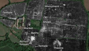 Ground-Penetrating Radar Reveals Entire Ancient Roman City