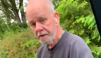 Old Man Threatens Delivery Driver For 'Trespassing' On His Property, Gets Called Out For Trespassing Someone Else's Property