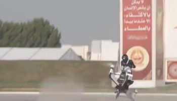 A Cop Narrowly Escapes Death In This Scary Hoverbike Crash Footage Taken During A Test Flight