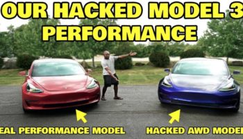 Someone Hacked Their Tesla Model 3s To Reveal Its True Potential