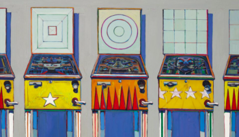 Pinball Painting That's Rarely Seen In Public May Fetch $25 Million