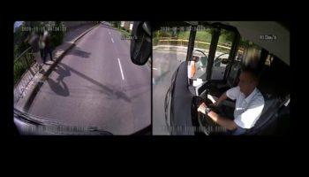 A Bus Driver Rescues An Elderly Woman From An Attempted Purse Snatcher