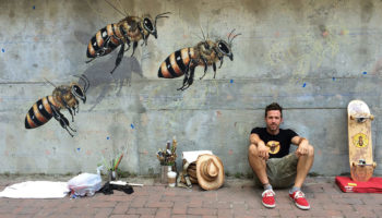Meet The Man On A Mission To Hand-Paint 50,000 Bees