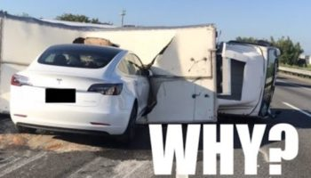 Why Did That Tesla Model 3 Crash Into The Overturned Truck On Autopilot? Here Are A Few Theories