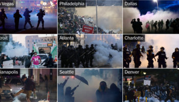 Here Are The 98 US Cities Where Protesters Were Tear-Gassed