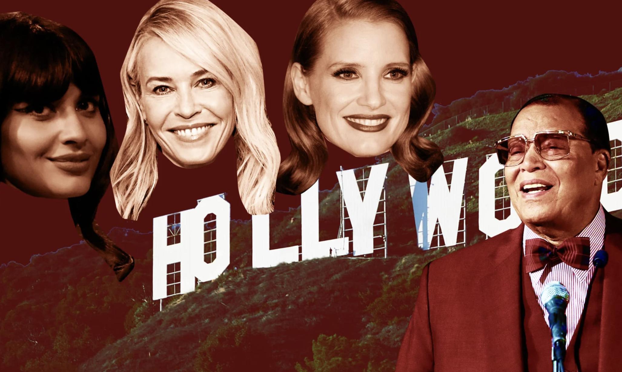 Hollywood Celebs Are Praising An Anti-Semitic Hatemonger