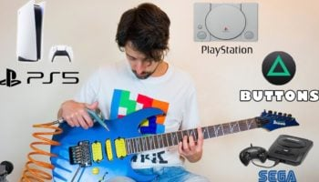 Extraordinary Musician Finds A Way To Mimic Every Gaming System's Sounds With His Guitar