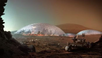 Architects Are Planning A Beautiful Martian City In The Dubai Desert