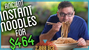 Incredibly Patient Man Makes Ramen Noodle From Scratch In 57 Hours