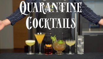 Here Are Six Easy-To-Make Quarantine Cocktail Recipes To Help Stay Sane While Stuck Inside
