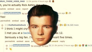 Some Guy Rickrolled Rick Astley On Reddit And It Might Be The Most Wholesome Thing You'll See Today