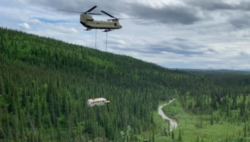 Alaska's 'Into The Wild' Bus, Known As A Deadly Tourist Lure, Has Been Removed By Air