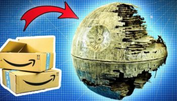 How To Build The Death Star Out Of Discarded Amazon Cardboard Boxes