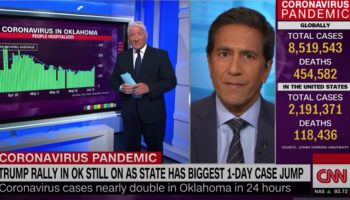 CNN's Sanjay Gupta Explains The Simple Math Of Why Trump's Tulsa Rally Will Probably Lead To An Outbreak