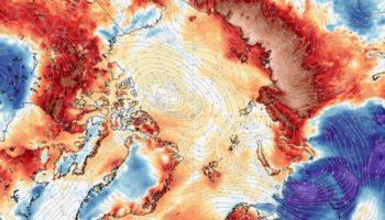 Arctic Records Its Hottest Temperature Ever