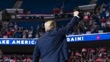 Trump Crowd Size Underwhelms, Campaign Blames Protesters