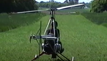 Man Tests Out A Helicopter He Built From Scratch To See If It Can Fly. It Does — Gloriously