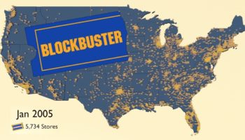 Blockbuster Video Store Locations In The United States From 1986 To 2019, Visualized