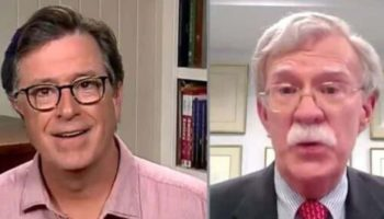 Stephen Colbert Asks John Bolton How He Could Be So 'Naive' For Trusting Trump In Fiery Interview