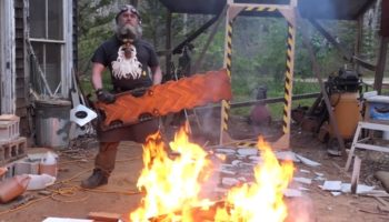 Craftsman Builds A Badass Giant Rectangular Sword And Dubs It 'The Wrektangle'