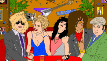 The Legacy Of The Sunset Strip's '80s Glam Rock Scene