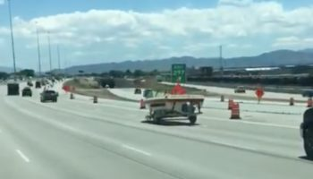 Boat Gets Loose From Car, Takes Delightful Joyride Down Highway