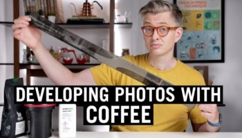 How To Develop Photos With Fresh Brewed Coffee