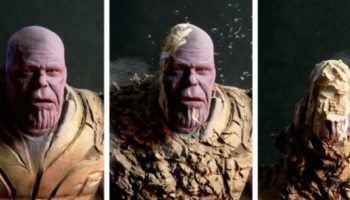 Here's A Satisfying Timelapse Of An Artist Building A Sculpture Of Thanos And Then Turning It Into Dust