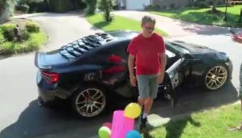 This Car-Loving Kid Stuck In Quarantine Got The Best Birthday Present Ever