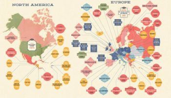 The Oldest Restaurants In The World, Visualized