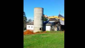 They Were Going To Take Down A Silo, But Things Went Sideways — Literally