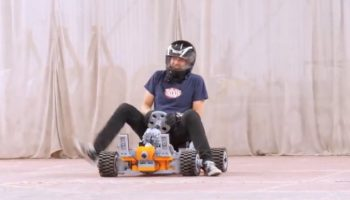 Someone Built A Go-Kart Out Of Giant Legos And Had The Time Of Their Life