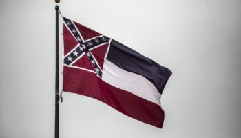 Mississippi Furls State Flag With Confederate Emblem After 126 Years