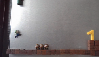 This Super Mario Stop Motion Film, Made Using Fridge Magnets, Is The Coolest Thing You're Going To See Today