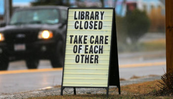Millions Of Americans Depend On Libraries For Internet. Now They're Closed