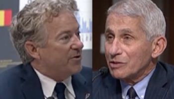 Sen. Rand Paul Tells Dr. Anthony Fauci In Tense Exchange: 'We Shouldn't Presume That A Group Of Experts Somehow Knows What's Best For Everyone'