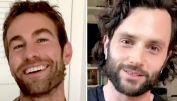Penn Badgley Reveals To Chace Crawford That 'Gossip Girl' Is Now 'Very Hard To Watch'