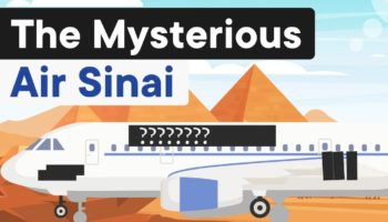 Why Air Sinai's Flight From Cairo To Tel Aviv Is One Of The Most Secretive In The World