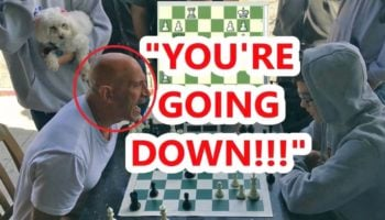 Watch This 16-Year-Old Withstand A Torrent Of Trash Talk During An Intense Round Of Chess