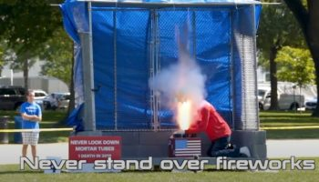 Watch Test Dummy After Test Dummy Get Obliterated In Government Firework Safety Video