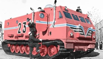 How This Massive Soviet All-Terrain Vehicle Conquered Antarctica