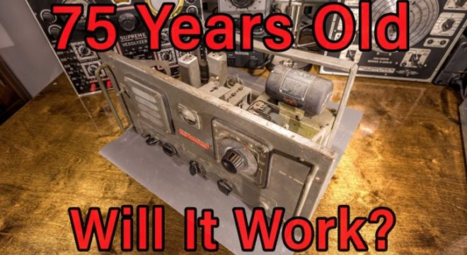 This Guy Found A 75-Year-Old Radio Retriever In A Barn And Attempted To Bring It Back To Life