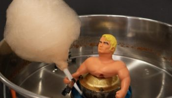 Can The Goo Inside A Stretch Armstrong Action Figure Be Turned Into Cotton Candy?