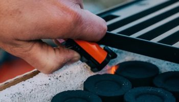 This Lighter Is Made To Last, So You'll Be Lighting Campfires For Years To Come