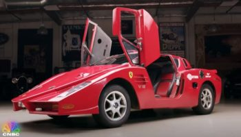 This Pontiac Fiero Modified To Look Like A Ferrari Enzo Is The Worst Car Jay Leno Has Ever Driven