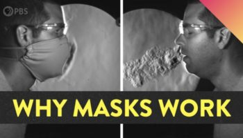 Here's A Simple Visual Demonstration Showing Why Masks Work As Seen With Slow-Motion Schlieren Imaging