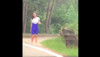 Woman Makes The Bad Decision To Take Picture With Bear, Almost Gets Attacked By Bear